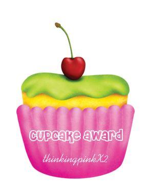 Cherry cupcake award