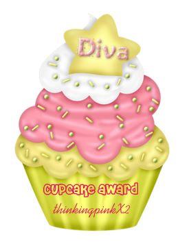 Diva cupcake award