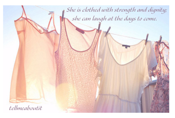 sheisclothedwithstrength
